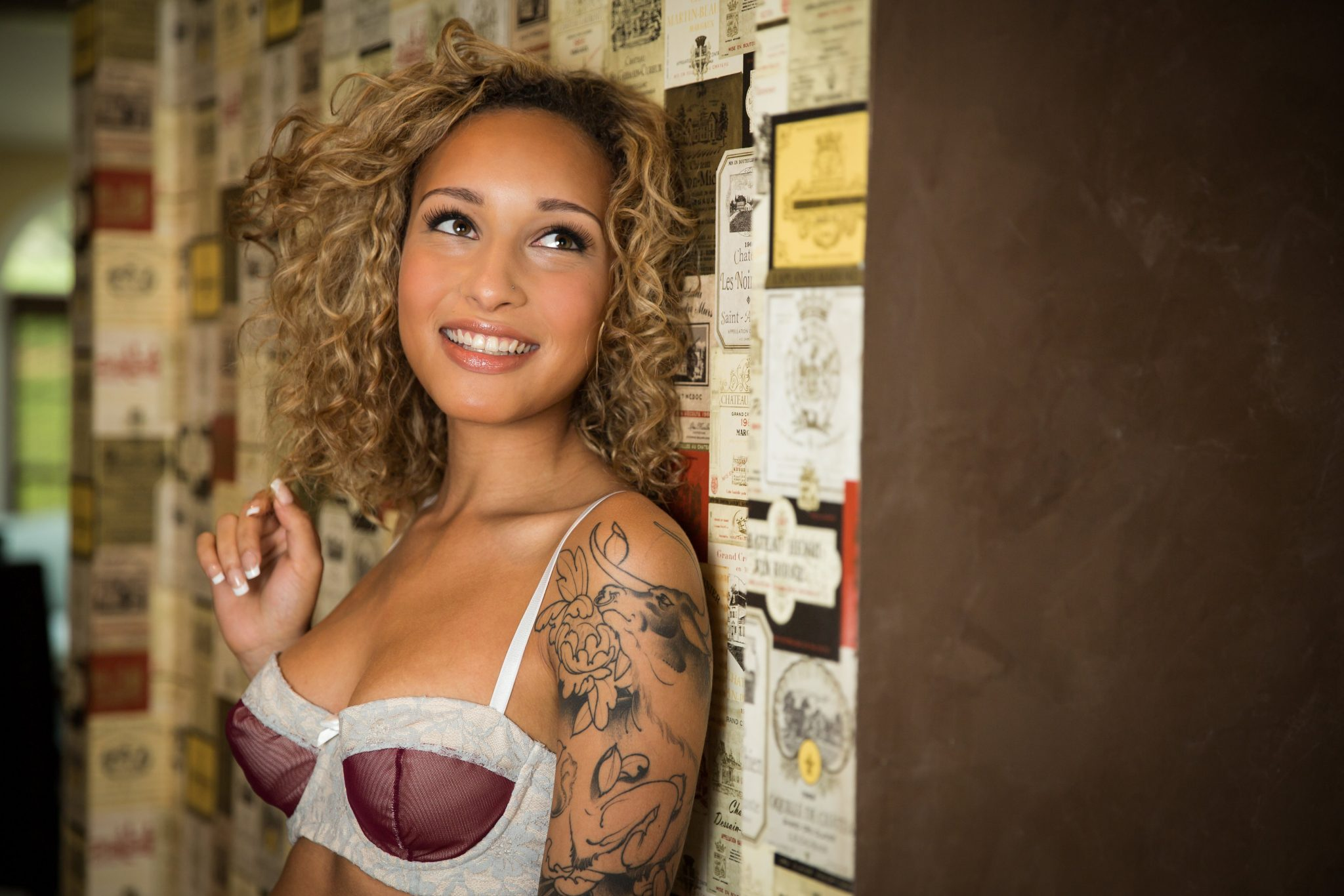 Laurin, Coffee Shop | Impish Lee - Customizable Intimates