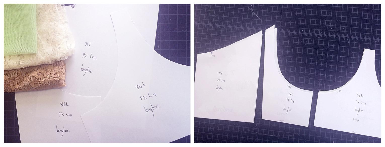 Impish Lee Custom Bra Sizes, Pattern making, customization and personalization