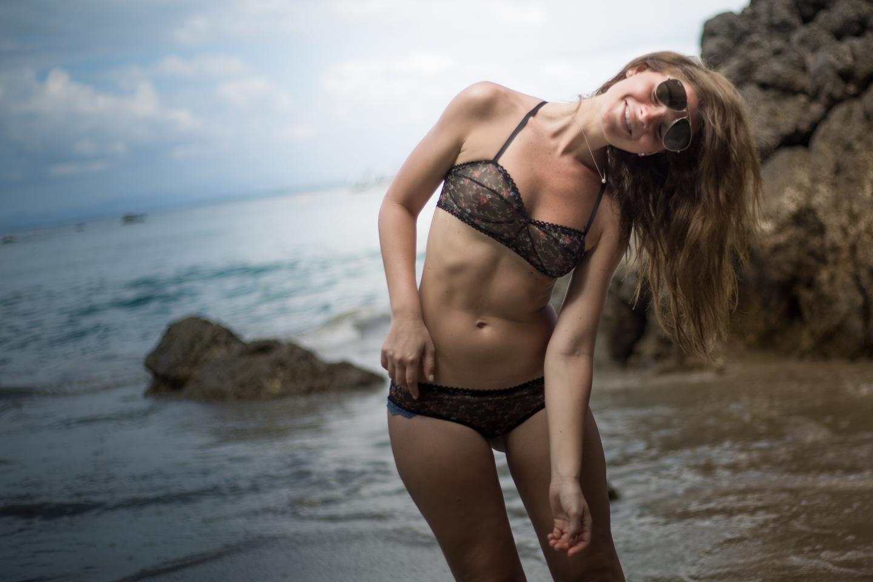 Rachel, Beach Shoot | Impish Lee - Customizable Intimates