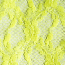 Bright Yellow Lace